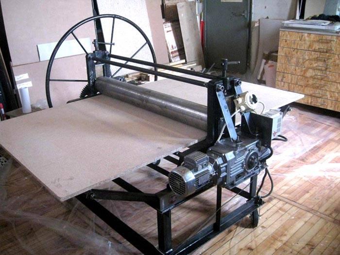 Валковый пресс своими руками – привод и от электродвигателя, и ручной