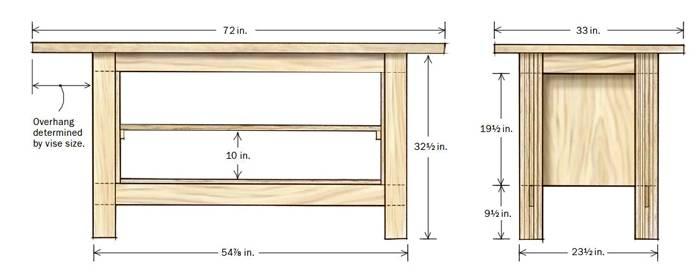 Чертежи конструкции из древесины