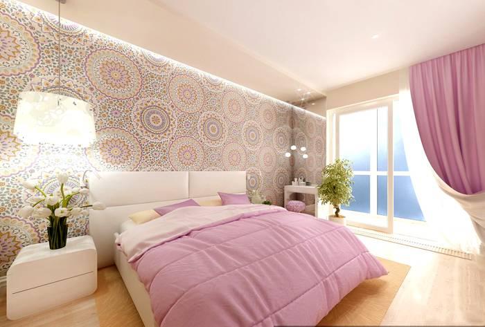 Воздушный дизайн для комнаты 16 метров