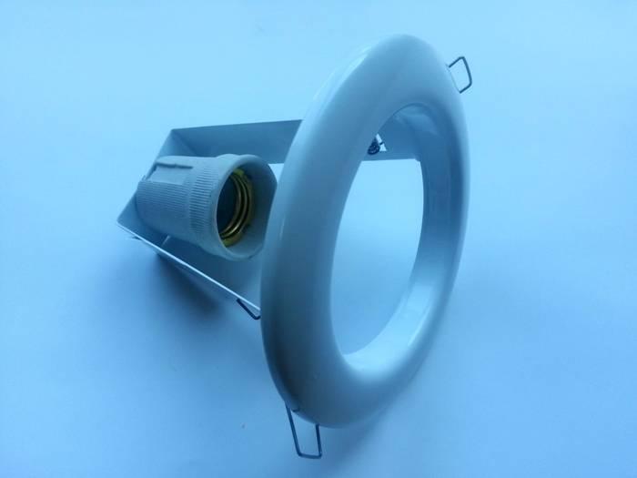 Встраиваемый источник освещения: компактный размер, пластиковый корпус