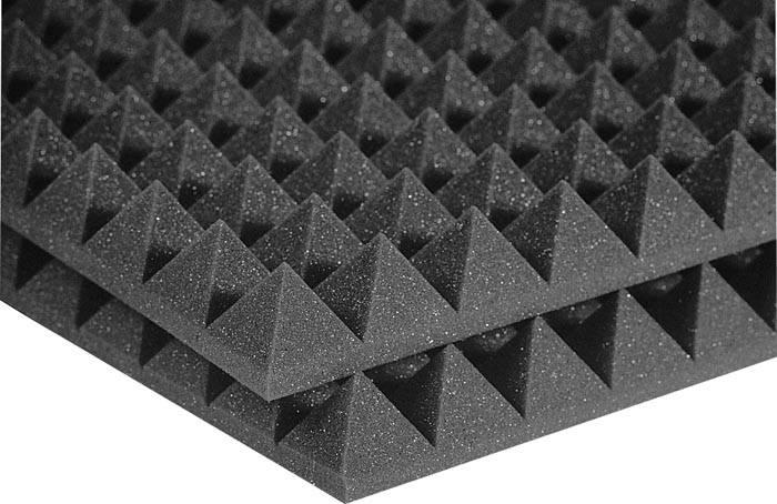 Чтобы обеспечить эффективное поглощение звуков, применяют специальные материалы для обивки стен, потолка