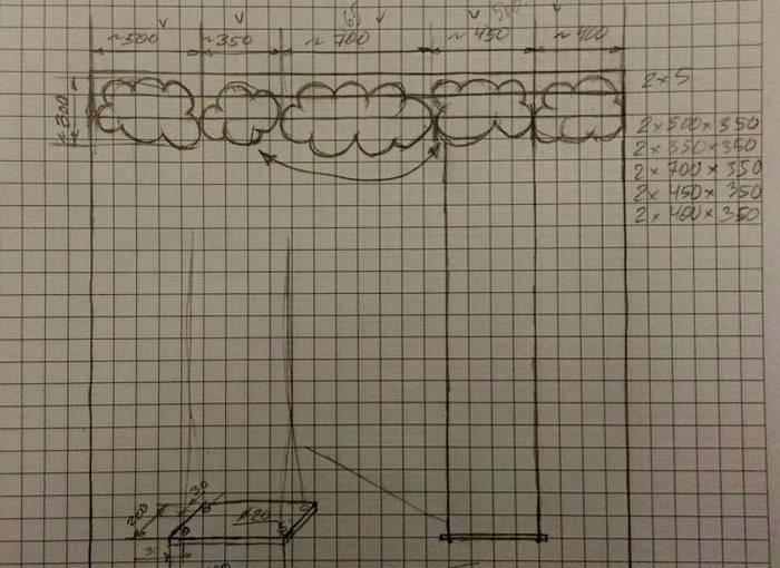 Как закрепитьна одной ветке две конструкции с безопасным расстоянием между ними и до ствола дерева