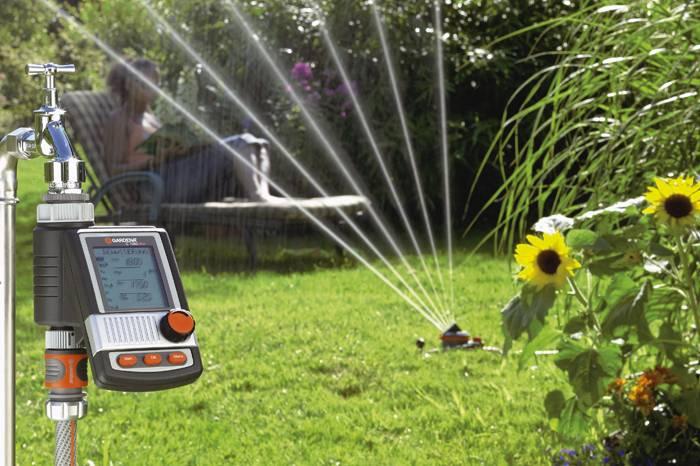 Автоматический вариант с дождеванием