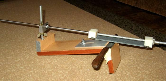 Самодельный агрегат для заточки ножей