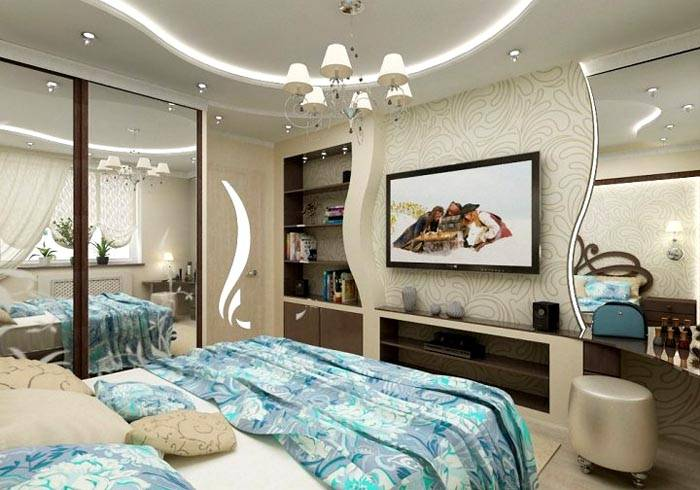Дизайн для помещения необычной конфигурации