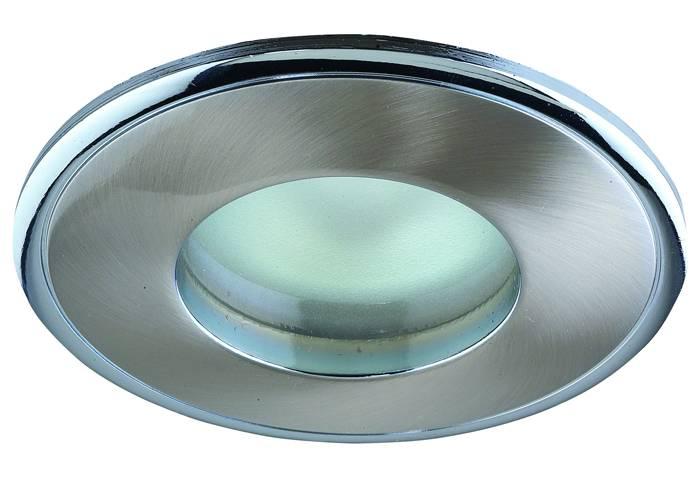 Встраиваемый в гипсокартонный потолок точечный светильник
