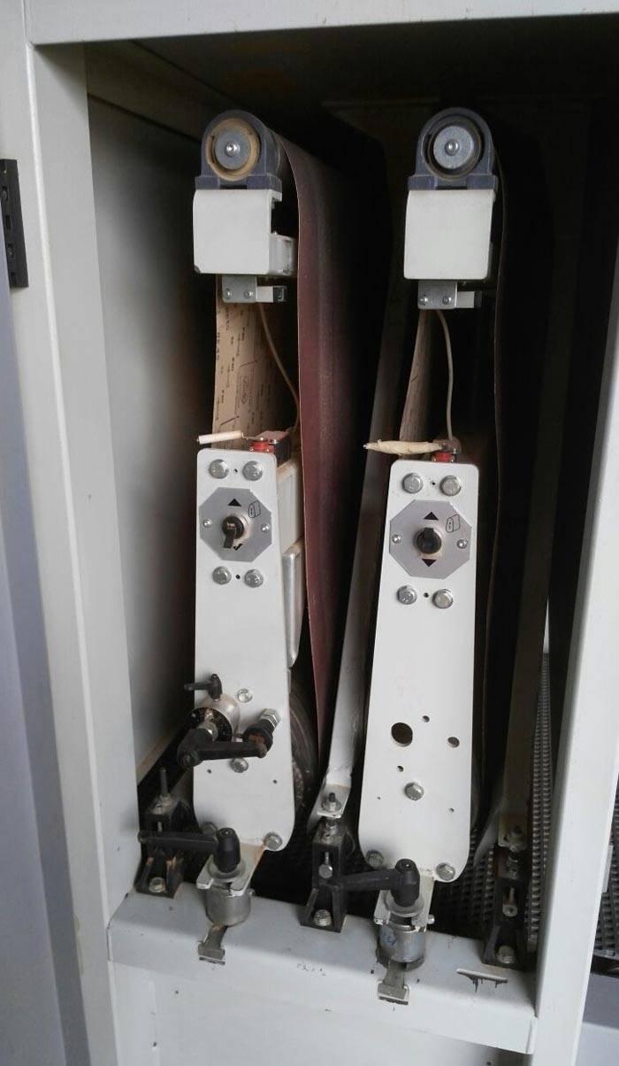 В калибровально-шлифовальные станки по дереву устанавливают широкие ленты. Такие инженерные решения предназначены для массового производства изделий