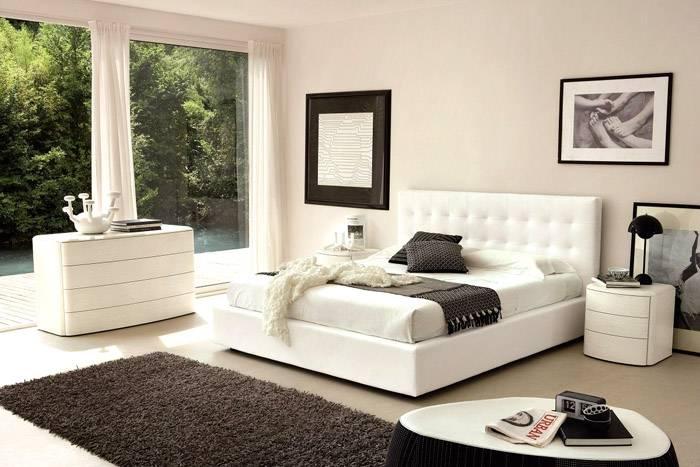 Современная мебель выглядит просто и органично
