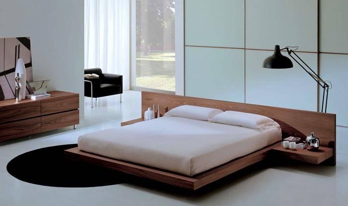 Кровать не обязательно должна стоять на ножках