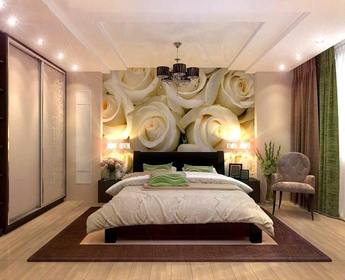 Романтичное решение для комнаты сна