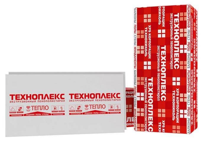 Техноплекс – еще одна разновидность экструдированного полистирола