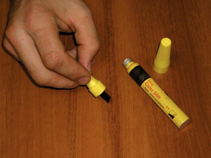 Специальные маркеры и карандаши обязательно помогут