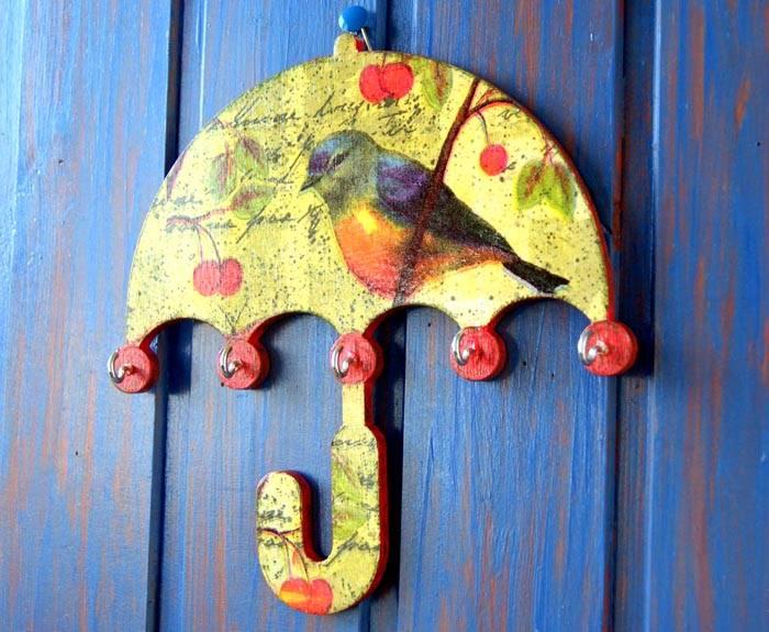 Металлические модели в форме зонтика