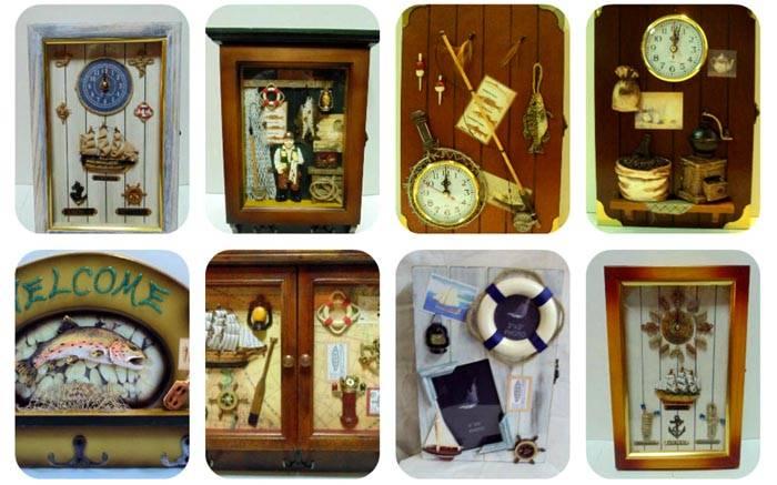 Сувенирная декоративная коллекция