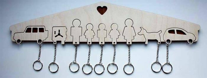 Еще одна модель с фигурками для семьи более 2-х человек