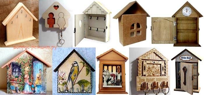 Все модели выполнены самостоятельно в домашних условиях