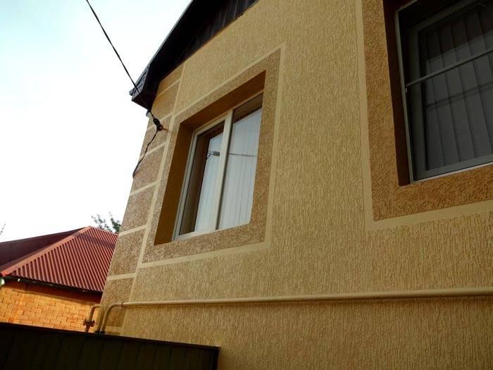 Минеральные смеси часто применяют для отделки фасадов
