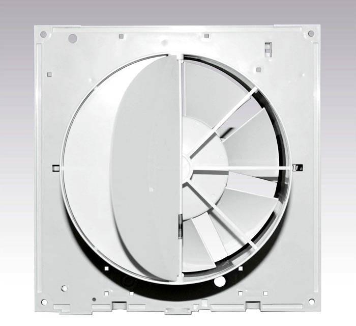 Устройство стандартного вентилятора с обратным клапаном