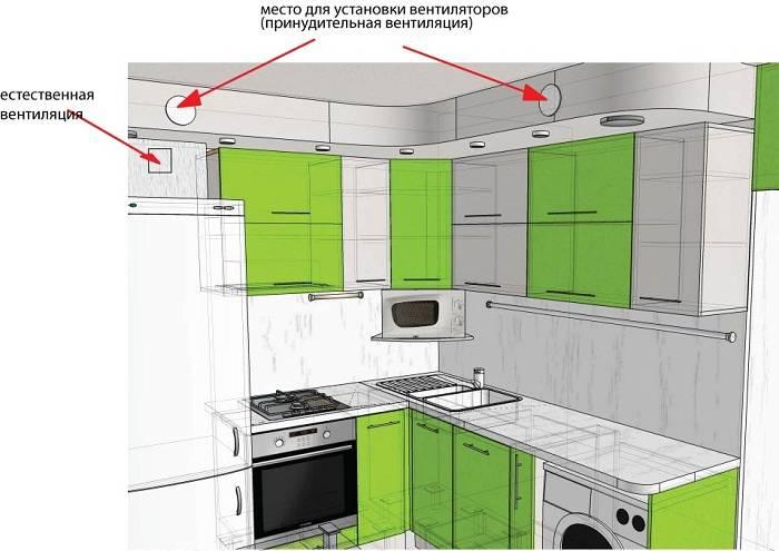При монтаже сложных систем применяют несколько тройников для вентиляции с обратными клапанами