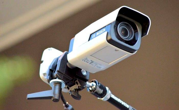 Поворотные устройства позволяют контролировать большую часть территории