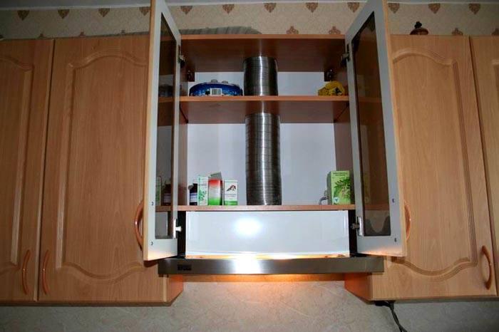 Вот так выглядит агрегат, зафиксированный в шкафу