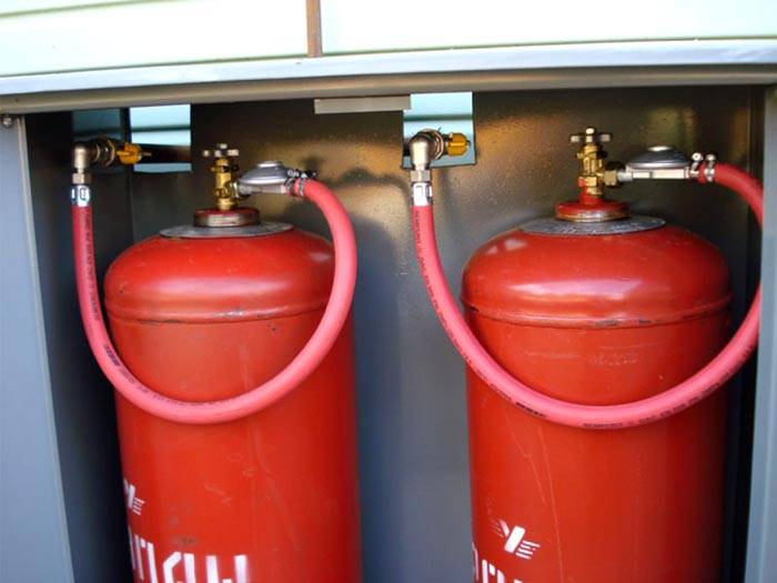 Некоторые котлы могут работать и на сжиженном газе