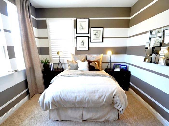 Визуальное расширение спальни