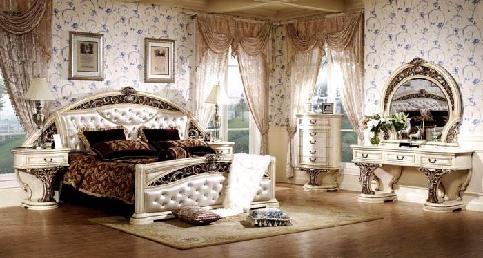 Барокко в спальне