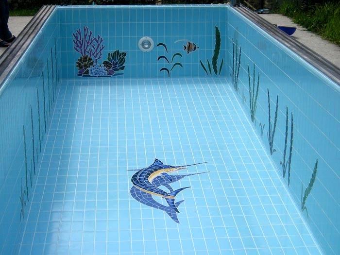 Применение клинкера в бассейне