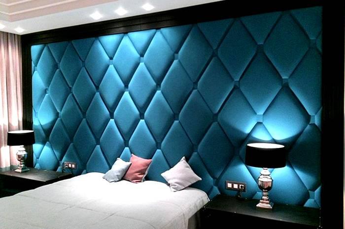 Акустические панели в спальне – соседи совершенно ничего не услышат