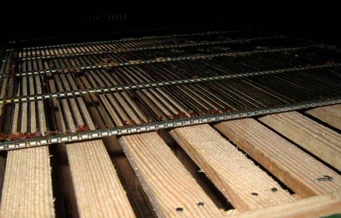 Надежная долговечная разделительная решетка из нержавеющей стали