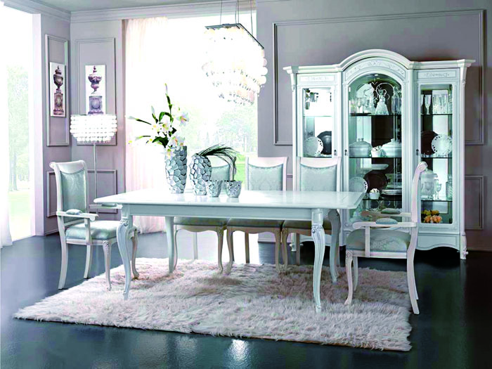 Белая мебель очень популярна