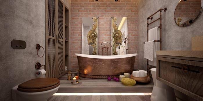Для оформления ванной используют материал с особыми характеристиками. Он стоит дороже обычного целлюлозного состава
