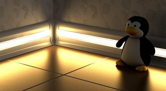Прозрачные каналы позволяю создать необычную подсветку