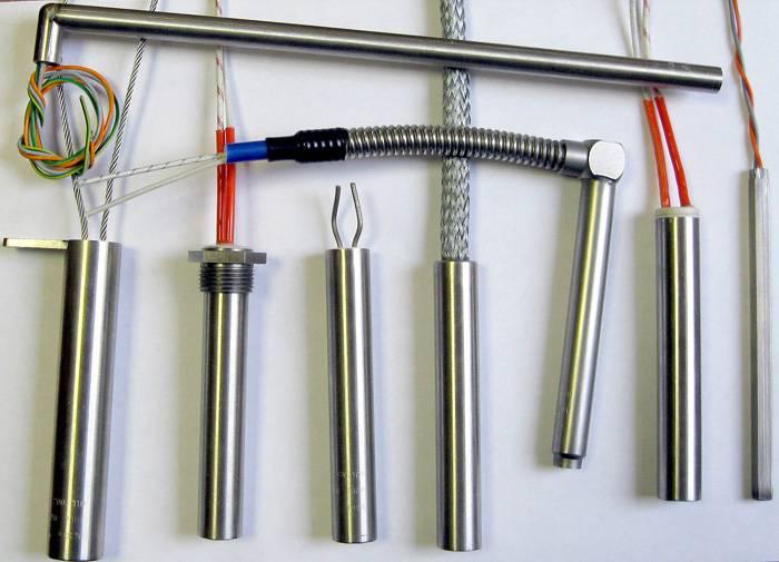 Тэны для электрических котлов для отопления могут быть разнообразными