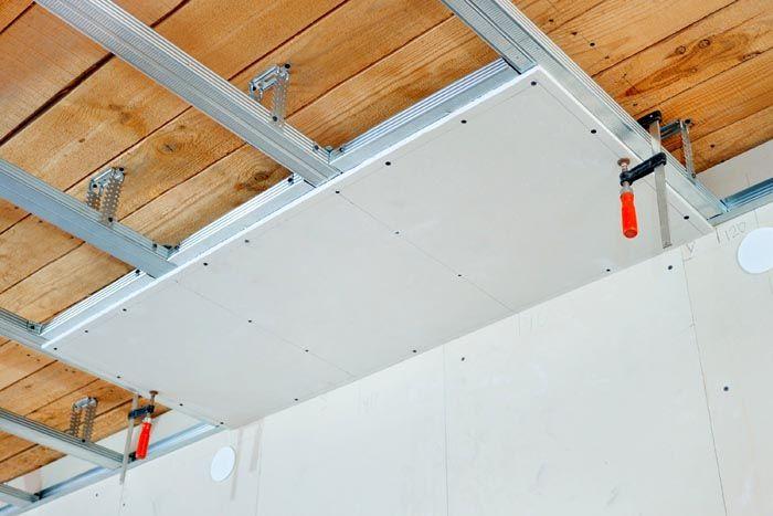 Для потолка и стен можно выбрать материал одинаковой толщины