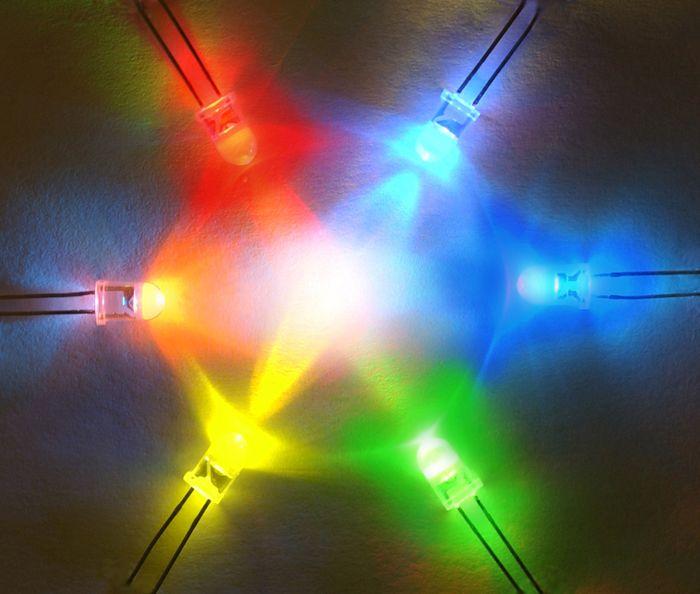Цвет свечения отражает волновую природу