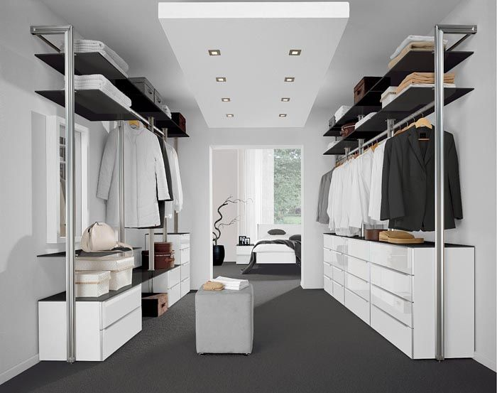 Параллельная схема актуальна для проходной комнаты