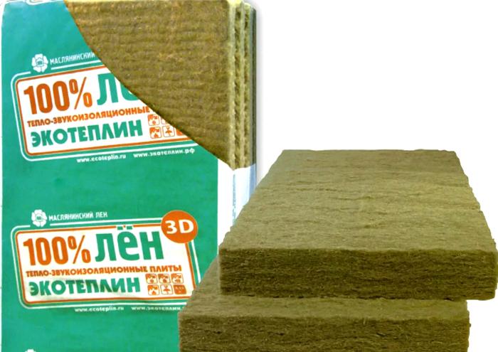 «Экотеплин» производит утеплитель только из натуральных материалов