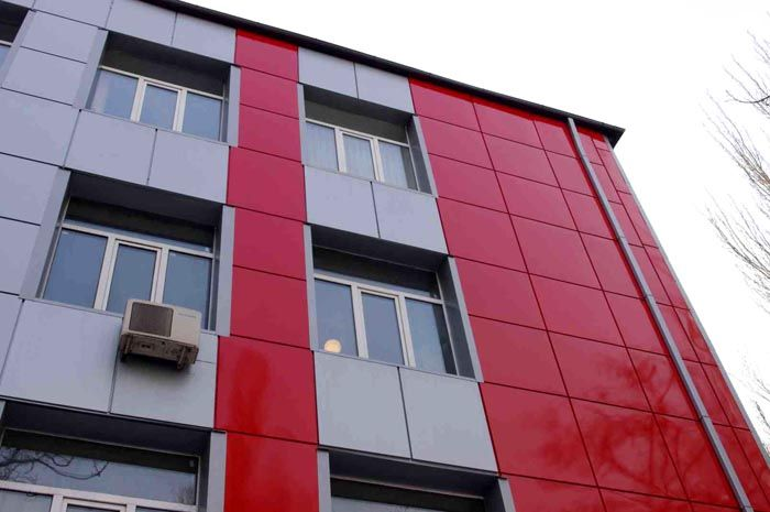 Вентилируемый фасад – это не только утепление, но и эстетичная отделка фасадов зданий