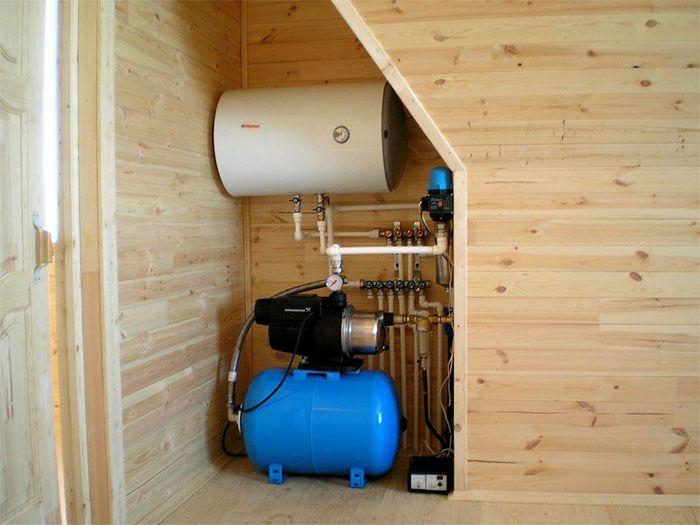Современная система водоснабжения частного дома из колодца выполняет свои функции автоматически, без тщательного контроля и частых настроек