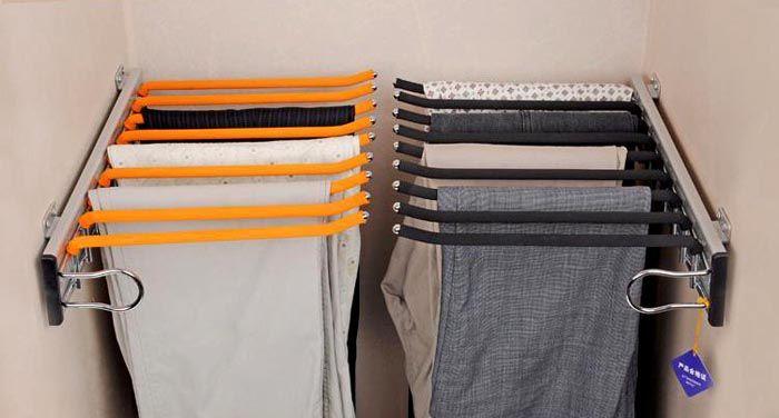 Компактные вешалки для брюк