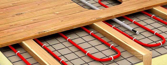 Возможен монтаж теплого пола и без бетонной стяжки, но теплоотдача будет ниже