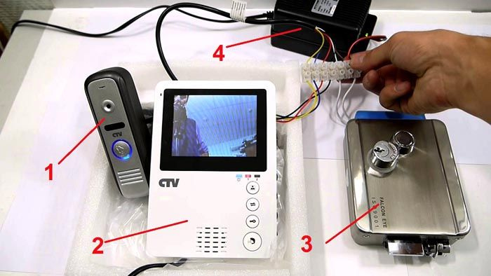 Проблему решить можно с помощью видеодомофона для квартиры