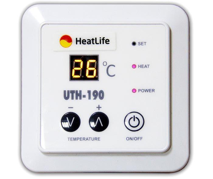 Терморегулятор может выглядеть так