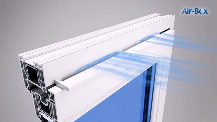 Для безопасной вентиляции комнат производители окон предлагают различные специализированные инженерные решения