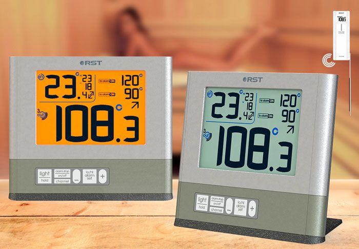 Модели этого типа оснащают несколькими датчиками, которые используют для контроля температуры в парном отделении, комнате отдыха, других помещениях банного комплекса
