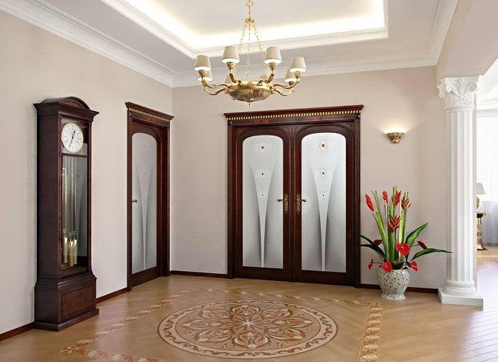 Двери в холл