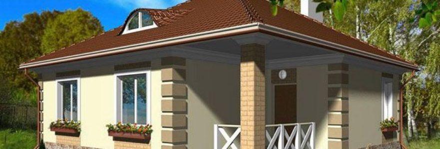 Проекты одноэтажных домов до 100 кв. м.