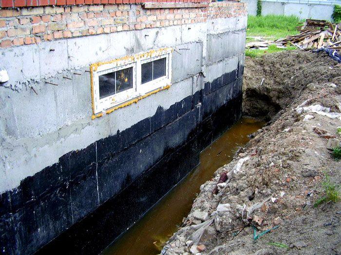 Уровень грунтовых вод определяет требования к порядку заливки фундамента